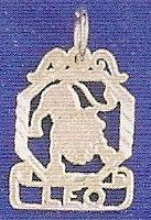 Sterling Silver Zodiac Necklace - LEO