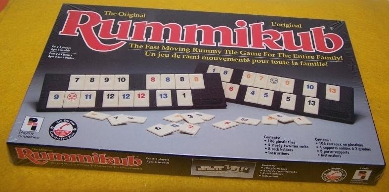 Board game rummikub