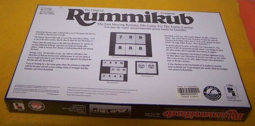 Rummikub Board Game New - Fast Moving Rummy Tile Game