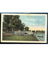 Tourist camp Oshkosh Wisconsin  Campground 1900s  3.580 - $7.50
