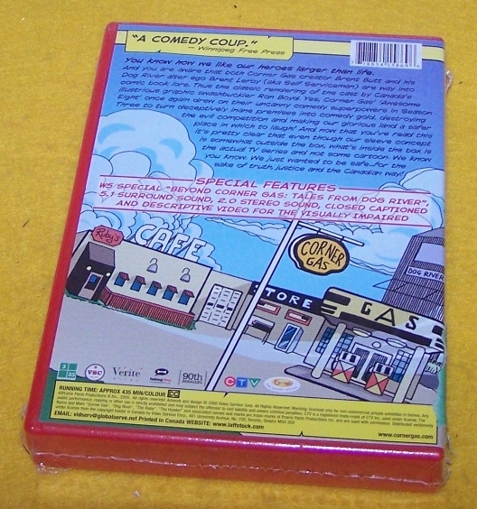 New Vintage DVD Movie Corner Gas Season 3 Tree Disc