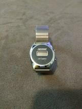 Vintage Retro Nelsonic LCD quartz digital watch wristwatch Hong Kong MZ ... - $9.99