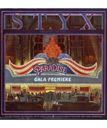 STYX PARADISE THEATER LP A&M SP-3719 STEREO RARE - $4.95
