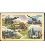 Various US Feild Artillery  Fort Bragg  Linen 3.332 - $6.00