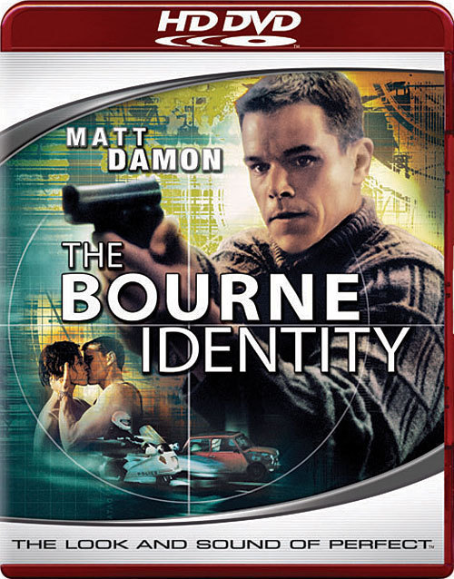 "HD DVD MOVIE "" THE BOURNE IDENTITY"" BRAND NEW - FACTORY SEALED"