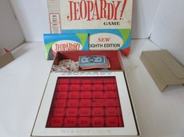 Vtg 1964 Jeopardy Game 8TH Edition Complete See Pics **Final Sale** - $4.90