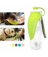 Water Bottle 580Ml Collapsible Pet Dog Bottle Water Bowl Silicone Portab... - $25.32