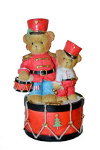 Cherished Teddies 00919 Toy Solider Bear Marching to the Beat of Holiday... - $19.80
