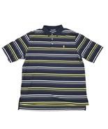 POLO GOLF Rugby Shirt Men's L Ralph Lauren Striped Premium Pima Cotton C... - $25.43
