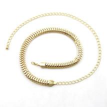 Ladies Woman's Girl Gold Mess Waist Chain Charm Fashion Metal Belt 525 - $10.58