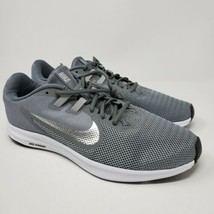 NIKE DOWNSHIFTER 9 RUNNING SHOES GRAY SILVER AQ7486-004 WOMENS Size 12  - $49.45