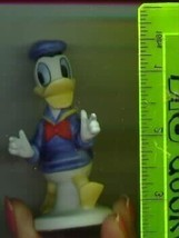 Disney Donald Duck  Procelain  Bisque Miniature Figuine - $30.95
