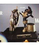 Disney Mickey Mouse Steamboat Willie  Anri wood carving - $941.99