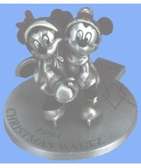 Disney Mickey & Minnie 1994 Ice Skating Rare - $77.54