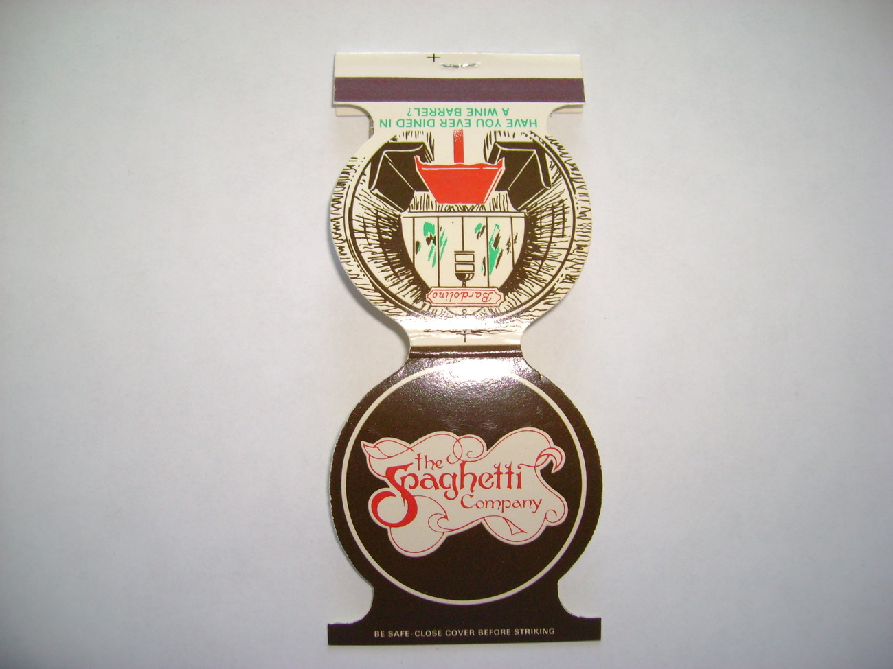 Primary image for Vintage The Spaghetti Company Matchbook