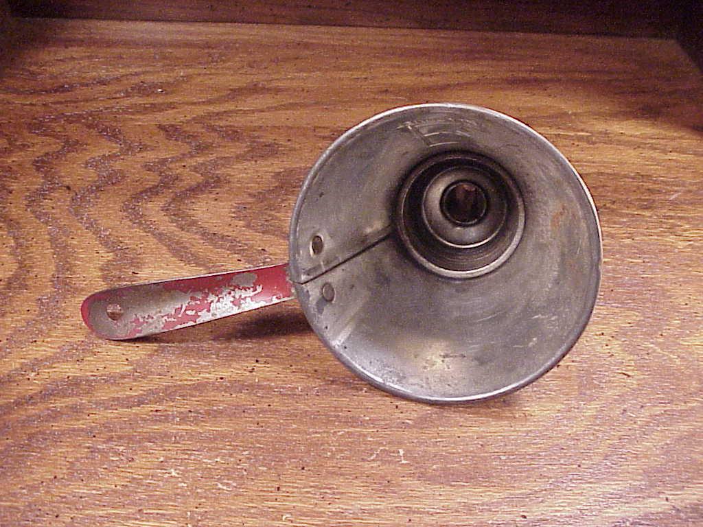 Old Metal Nesco 5 Articles in 1, Funnel, Strainer, Measure
