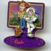 Disney Toy Story Buzz and Woody share magic pin/pins - $27.39