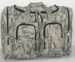 "ACU DIGITAL CAMO Duffle Duffelbag Free Shipping 22"" Gym Bag Hunting Spor... - $28.00"