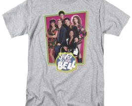 Saved by the Bell Bayside Tigers retro 80's 90's teen sitcom graphic tee NBC319 image 2
