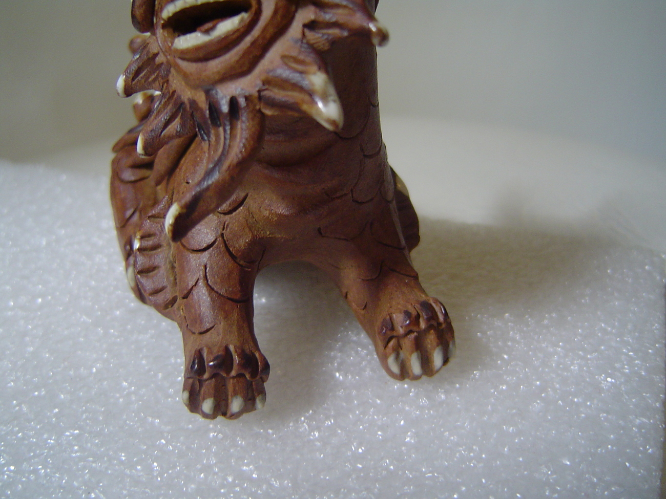 Antique Chinese Foo Dog Must See Very Rare