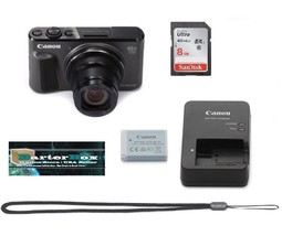 Retal Box Sale SX720 Canon PowerShot Sx 720 Hs Digital Camera + Free 8GB... - $232.18