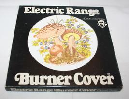 1 x Vintage Electric Range Stove Burner Cover Small Size Mushroom Max Bu... - $37.67