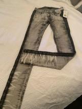 ROCK & REPUBLIC Razored Grey Denim  Jeans NEW Low Size Skinny Sz 25 - $39.55