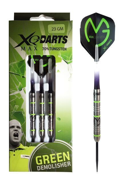 XQ Max MVG Demolisher 70% Tungsten 25 gram 2ba Soft Tip Darts MGD7025-ST
