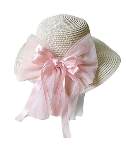 Beach Hat UV Girls Summer Sunscreen Large Brimmed Hat Child Children Folding