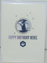 Lovepop LP2096 Star Wars Princess Leia Birthday Pop Up Card Cellophane Wrapped image 1