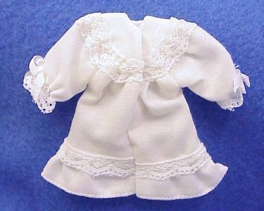 Night Gown Heidi Ott Dollhouse Girl White Miniature Miniature 1:12 NEW gemjane