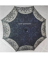 Black Battenburg Lace Parasol - $39.99