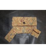 Handmade Jacquard/Tapestry Clutch Purse w/chang... - $20.99