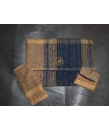 Handmade Heavily Weaved Clutch Purse w/change purse and gla - $20.99