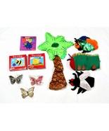 Teach Young Kids About Bugs, Teacher Unit, Hand Puppets, Puzzles etc.  - $19.75
