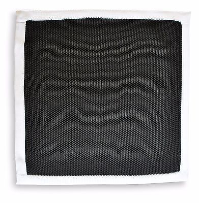 Frederick Thomas MAGLIA Fazzoletto quadrato da taschino nero ft3164