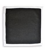 Frederick Thomas MAGLIA Fazzoletto quadrato da taschino nero ft3164 - $17.08