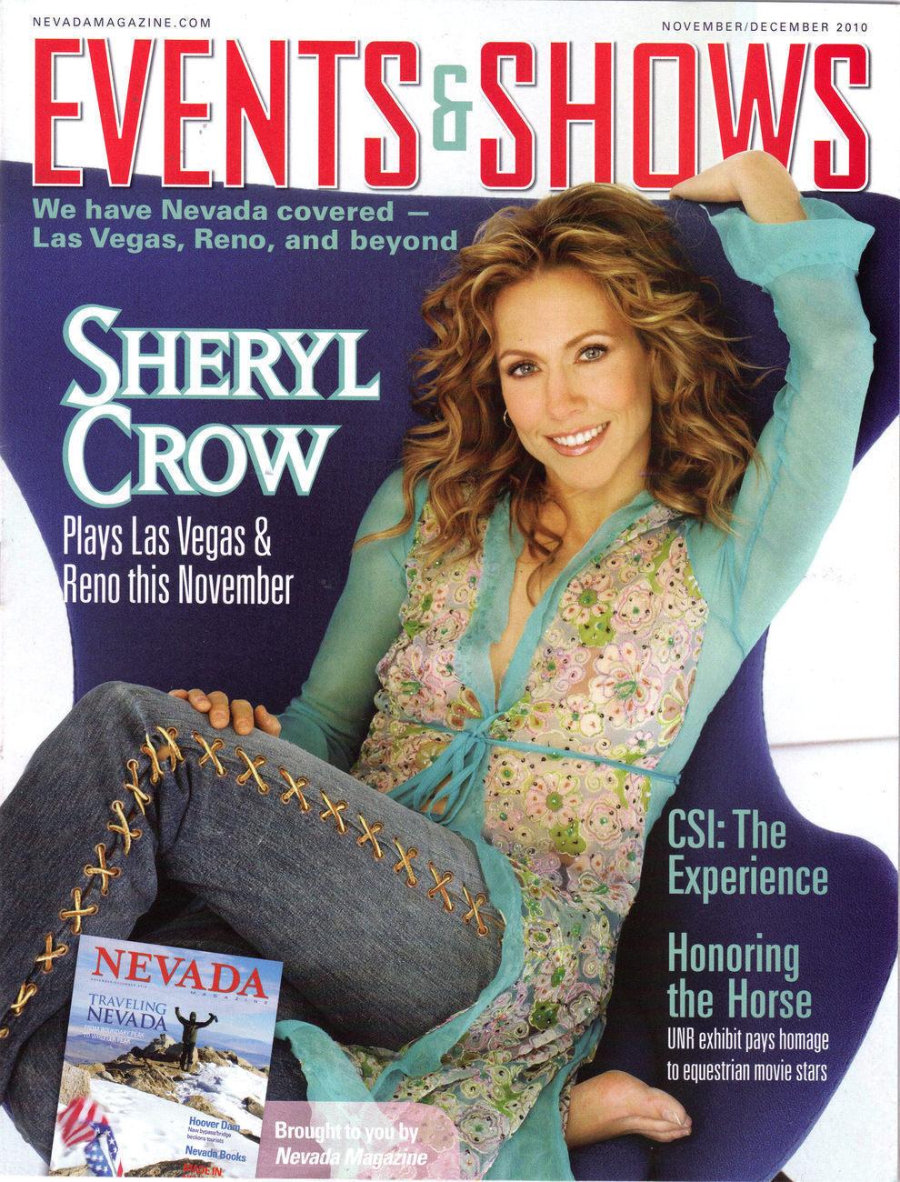 SHERYL CROW Plays Las Vegas Reno @ Events & Shows Las Vegas Magazine