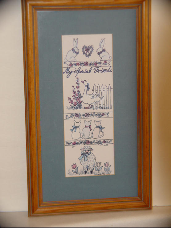 Glynda turley signed my special friends litho print prints for Glynda turley painting