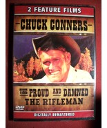Chuck Connors in 2 Feature DVD films THE RIFLEM... - $7.45