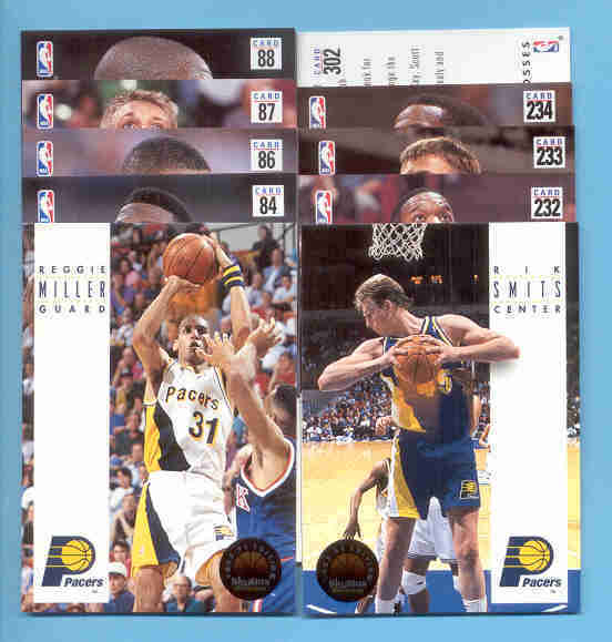 1993/94 Skybox Indiana Pacers Basketball Team Set