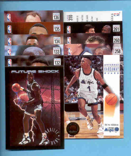 1993/94 Skybox Orlando Magic Basketball Team Set
