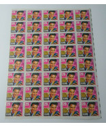 VINTAGE 1992 US STAMP ELVIS Rock & Roll Singer MINT SHEET 29c 45 STAMPS - $45.00