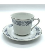 Danube Japan Fine China Blue Flower Coffee Cup & Saucer Replacement - $7.43