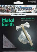 Fascinations Metal Earth Avengers Stormbreaker Laser Cut 3D MMS327 - $16.70