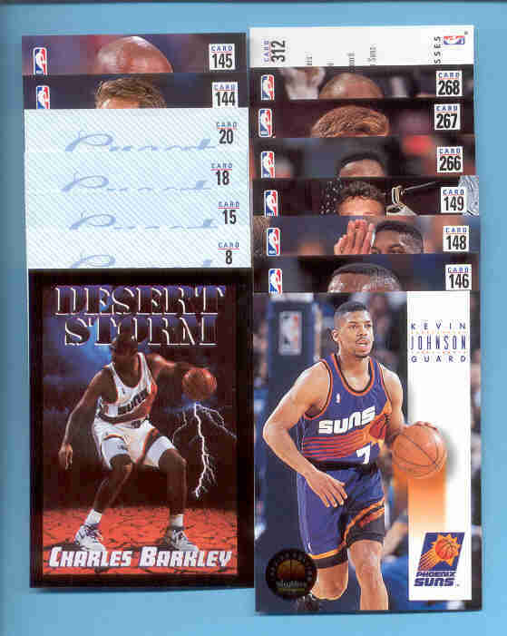 1993/94 Skybox Phoenix Suns Basketball Team Set