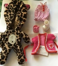 Lalaloopsy Littles Clothes Bumps Bruises Romper Robe Shoes Leopard Kitty... - $12.00