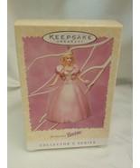 1996 Springtime Barbie Easter Collection Hallmark Keepsake Ornament. - $5.89