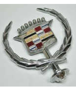 Cadillac CHROME Hood Ornament Emblem Crest Wreath - READ - $35.88