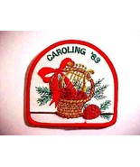 1989 Unused Girl Scouts Christmas Caroling '89 Patch Badge - $4.99